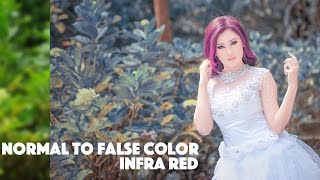 Normal To False Color Infra Red | Photoshop CC Tutorial