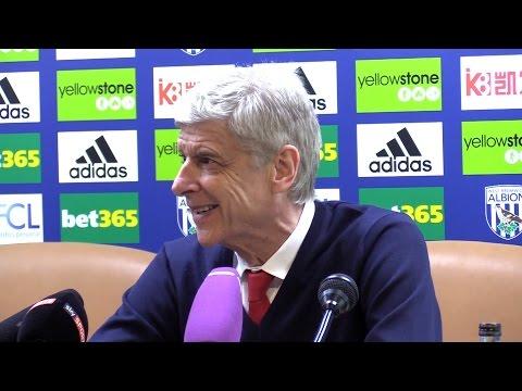 West Brom 3-1 Arsenal - Arsene Wenger Full Post Match Press Conference