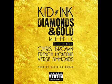 Kid Ink - Diamonds & Gold (remix) Instrumental