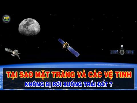 Vì sao Mặt trăng và các vệ tinh có thể bay trên Quỹ đạo Trái đất mà không bị rơi ? | Top thú vị |