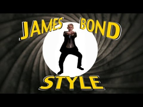 PSY  GANGNAM STYLE 강남스타일  PARODY  James Bond Style
