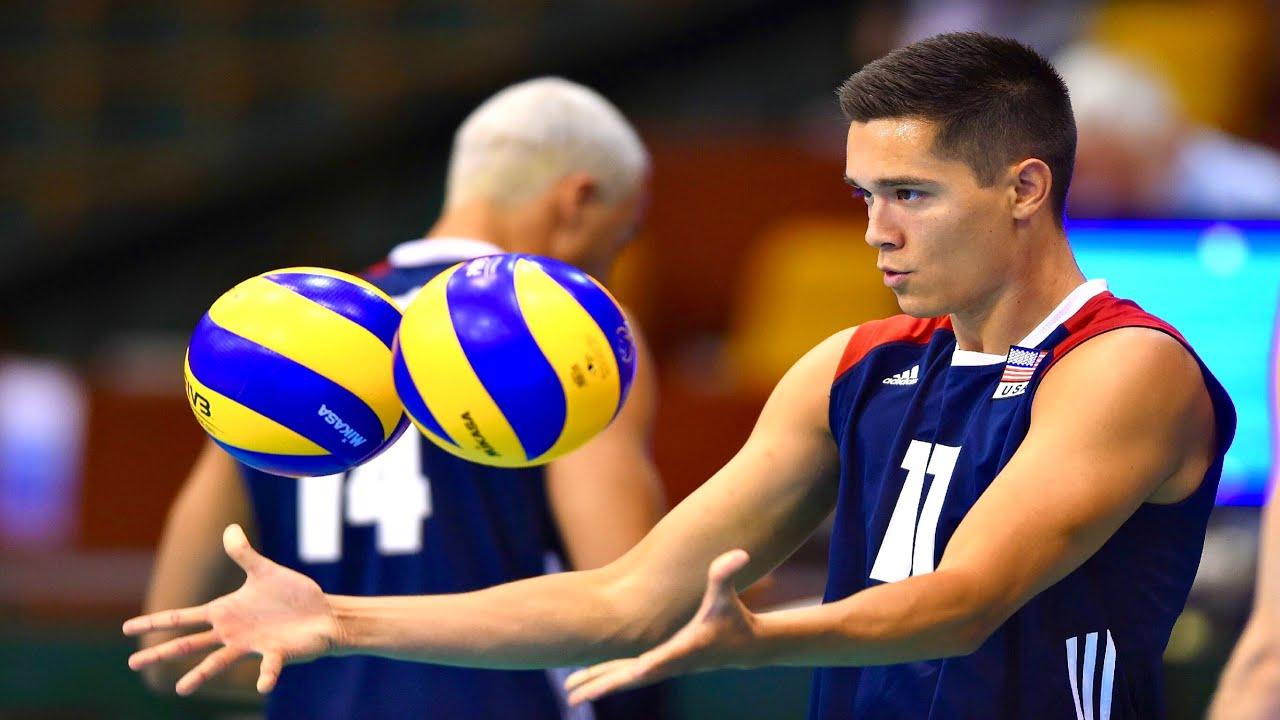 Volleyball Genius ○ Micah Christenson   Best Volleyball Setter ...