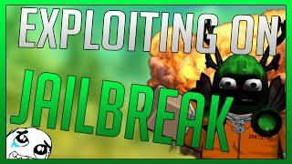 ROBLOX - EXPLOITING ON JAILBREAK PART 2 (SNOWED OUT)
