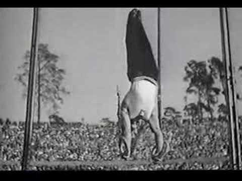 1936 Olympics - Gymnastics