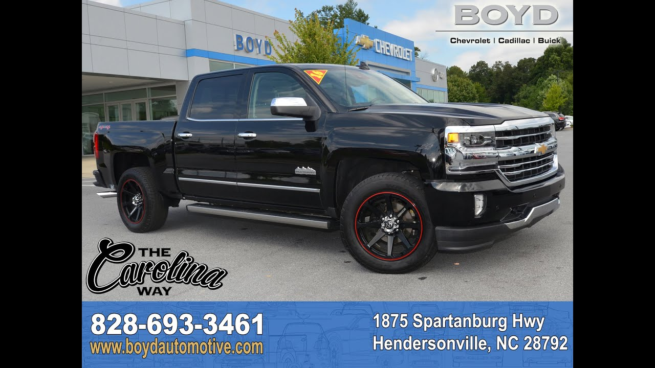 A16684 - 2016 Chevrolet Silverado 1500 High Country ...