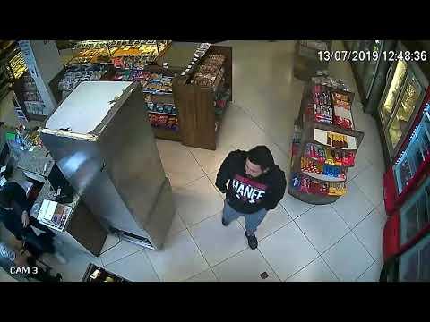 Vídeo mostra o momento do assalto à Padaria Roque Schuh from YouTube · Duration:  2 minutes 50 seconds