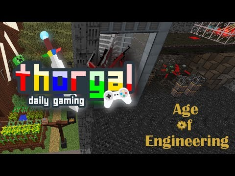Age of Engineering #7 - Mob Farm and Nano Suit