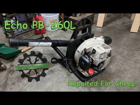 Repeat Backpack Blower Repair - Installing the Piston Kit