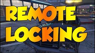 GTA V  PC - VEHICLE REMOTE CENTRAL LOCKING