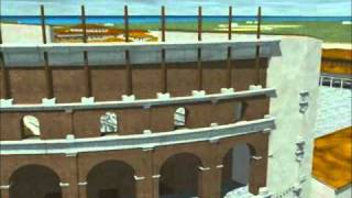 Ostia Antica, harbour of ancient Rome: a computer reconstruction