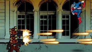 Captain America: Red Skull and Crossbones - Super Heroes Games 4 Kids