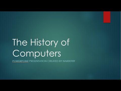 History of computing. Ppt video online download.