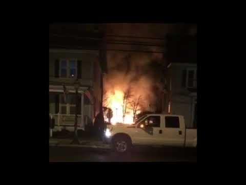 N.J. rescue squad building damaged in blaze