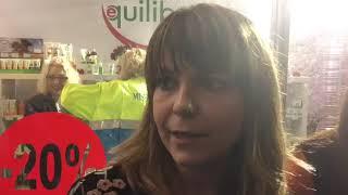 La regista Manuela Tempesta e l'attrice Giglia Marra presentano il cortometraggio Cristallo