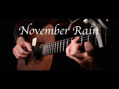 Kelly Valleau - November Rain (Guns N' Roses) - Fingerstyle Guitar
