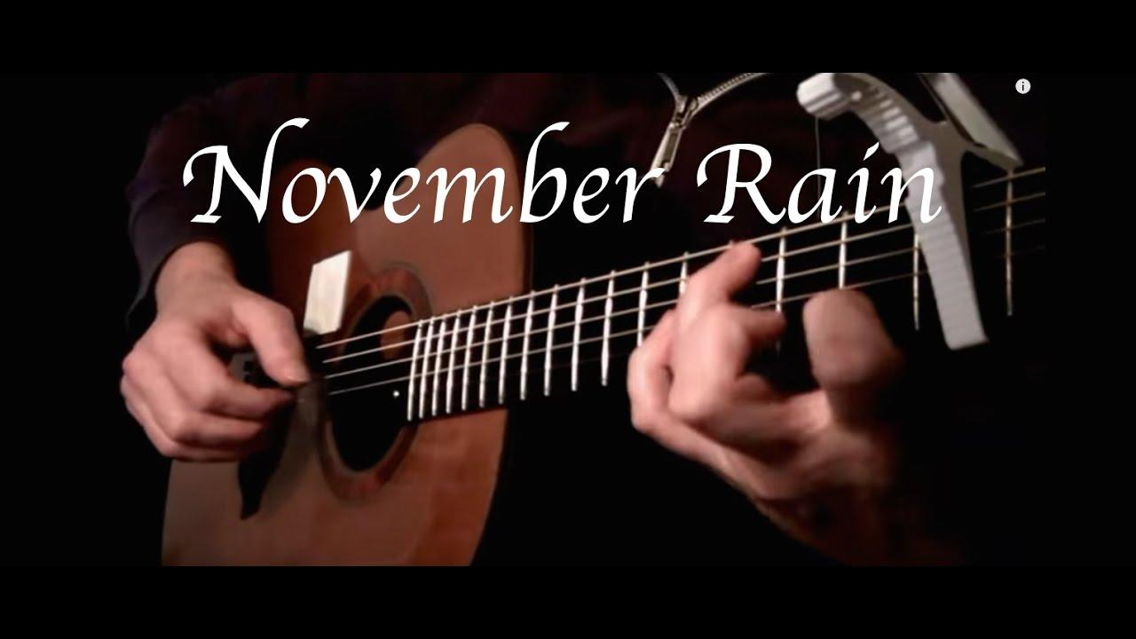November Rain Guns N Roses Fingerstyle Guitar Chords Chordify