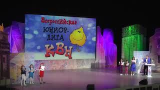 """КВН - Всероссийская Юниор-Лига, финал, часть 4 - """"Видео-биатлон"""""""