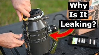 Why Your Garbage Disposal Leaks From Bottom: Disassembly