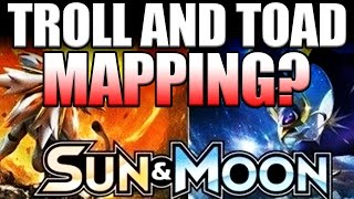 Is Troll and Toad SCAMMING YOU?!? Pokemon Sun and Moon Mapped Packs