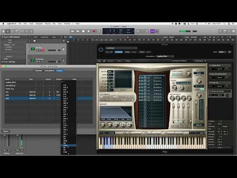 Advanced Creating Custom Articulation Sets in Logic Pro 10.4