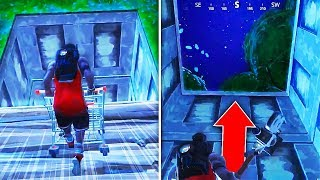 How to OPEN the Secret BUNKER in Wailing Woods! What's inside the Secret Bunker Fortnite Bunker Open
