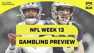 Warren Sharp Is Crushing It: Week 13 NFL Gambling Preview   The Lefkoe Show