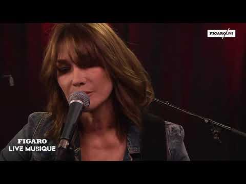 Figaro Live Musique reçoit Carla Bruni