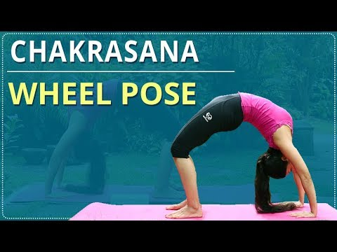 how to do wheel pose  stepstep chakrasana  simple