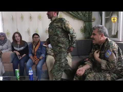 وفد من الإدارة المدنية يزور القوات العسكرية في منبج ويبارك عليهم العيد