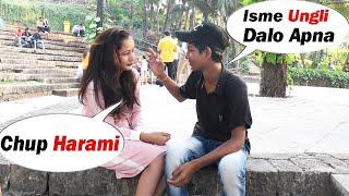 Kya Hot Lag Rahi Ho 💋😍 | Prank On Cute Girls | Pranks In India | Bindass Harshit