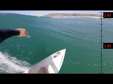 SURF EM 2 METROS DE ONDA #vlog32