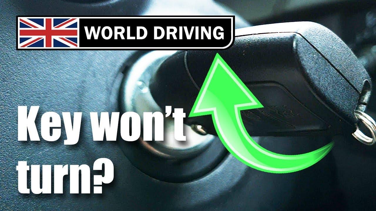 Ignition Key Won't Turn? Car Problem Solved!
