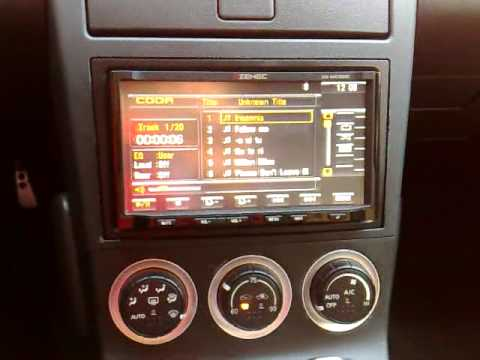 Zenec NC520 2-Din in Nissan 350Z