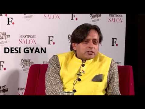 Dr. Shashi Tharoor praising Narendra Modi for his foreign policy