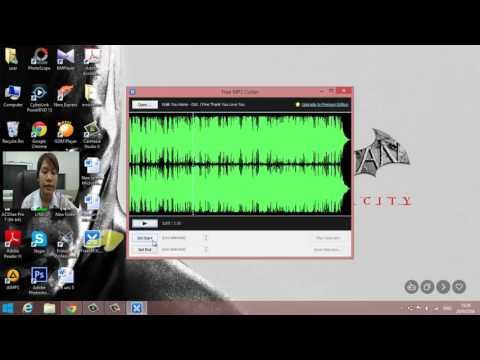 แนะนำการตัดเพลงจากโปรแกรม free mp3 cutter