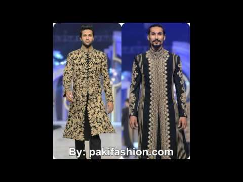Latest Wedding Dress Sherwani Designs 2016 For Men By HSY