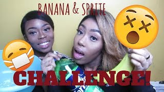 Video BANANA AND SPRITE CHALLENGE! **WARNING! VIDEO INCLUDES VOMITING** - Kej LDN download MP3, 3GP, MP4, WEBM, AVI, FLV Oktober 2018
