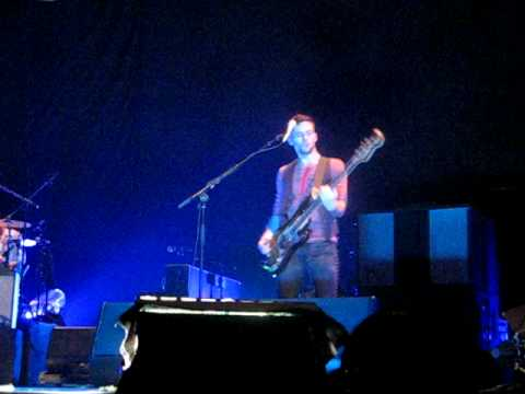 Coldplay - Cemetaries of London - Guy Berryman - Melbourne 4309