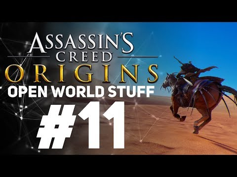 Assassin's Creed Origins [LIVE/PC] - New Game + Open World Stuff #11