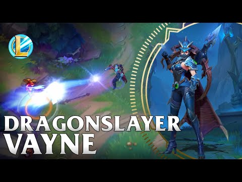 Dragon Slayer Vayne Skin Spotlight - Wild Rift