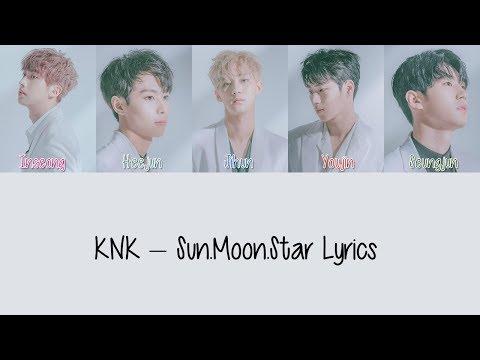 KNK – Sun.Moon.Star [Hang, Rom & Eng Lyrics]