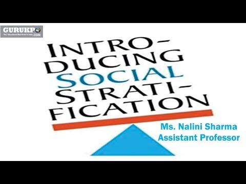 Social Stratification( B.Ed)