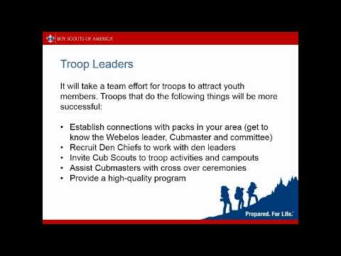 Webelos To Scout Transition Northern Lights Council Boy