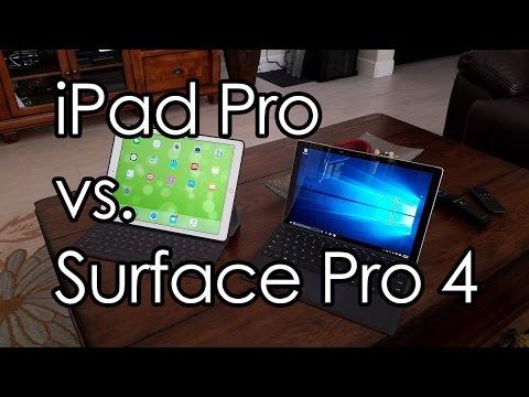 Apple iPad Pro or Microsoft Surface Pro 4?