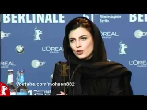 Leila Hatami in Berlin film Festival Press Conference