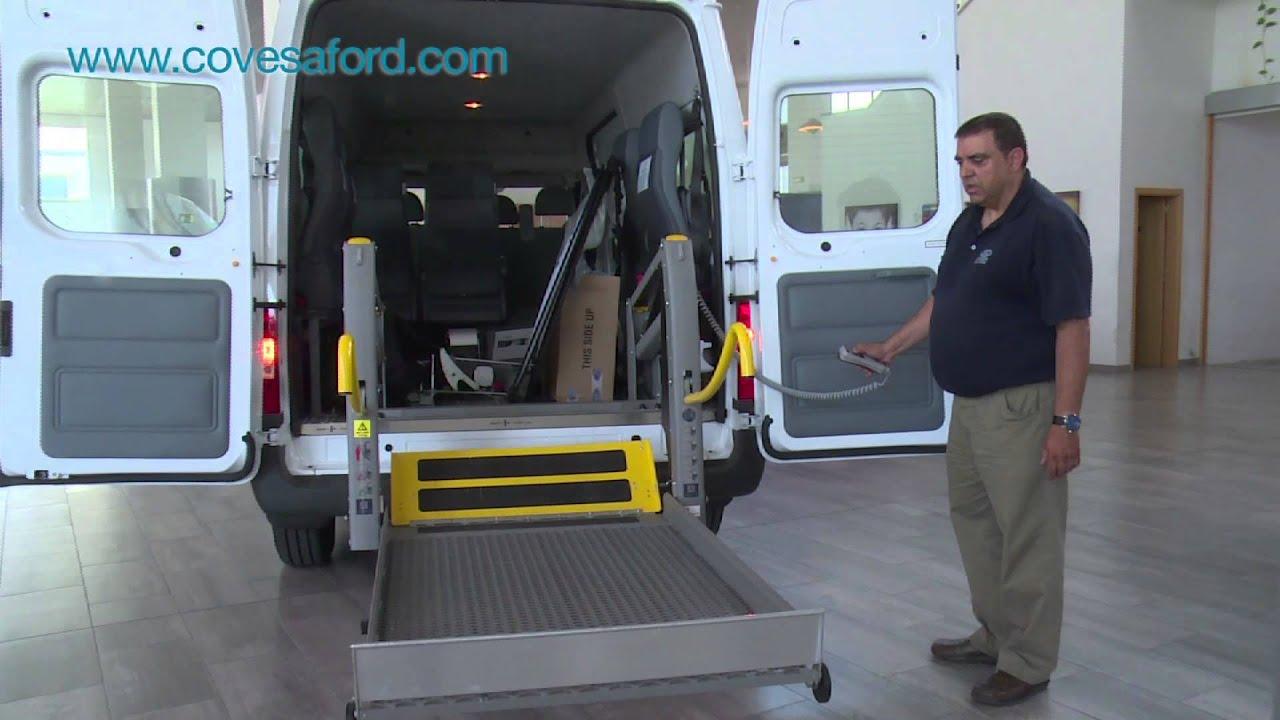 Transit bus mobileasy con plataforma para silla de for Plataforma para silla de ruedas