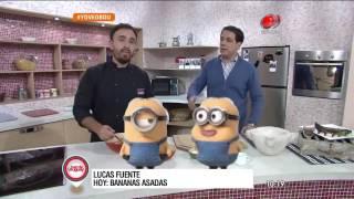 Buen día Uruguay - Bananas Asadas 24 de Junio de 2016