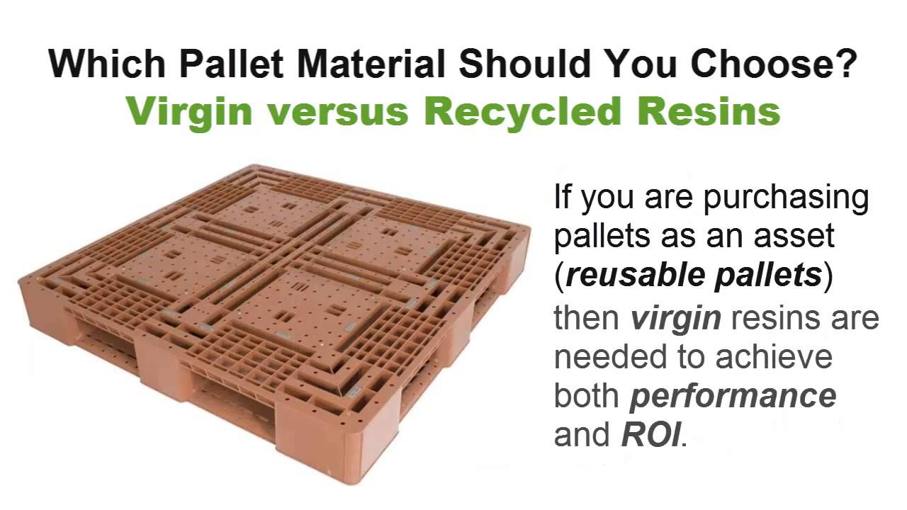 Plastic Pallets Which Pallet Material Should You Choose