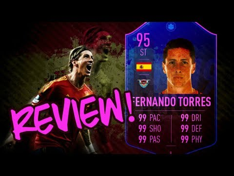 FIFA 19 SBC l (95)FERNANDO TORRES - END OF ERA SBC l PLAYER REVIEW!