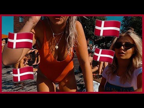 VLOGG | Flyger fulla till Danmark